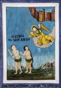 Αγιογραφήσεις του εσωτερικού του ναού που ανάγονται στον 19ο αιώνα